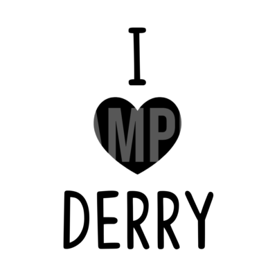 I Heart Derry SVG