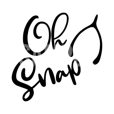 Oh Snap Thanksgiving SVG