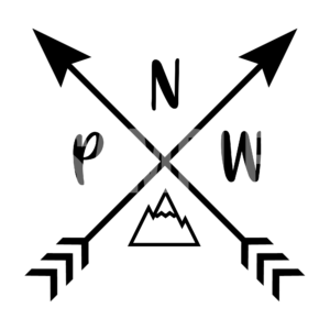 PNW Arrows Pacific Northwest SVG