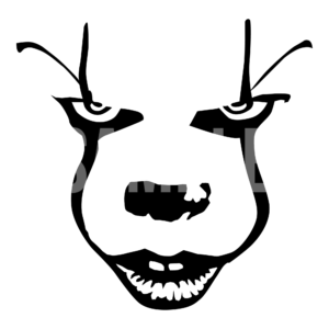 Pennywise Face SVG