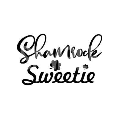 Shamrock Sweetie SVG