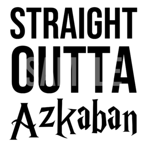 Straight Outta Azkaban SVG