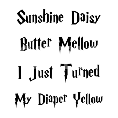 Sunshine Daisy Butter Mellow SVG