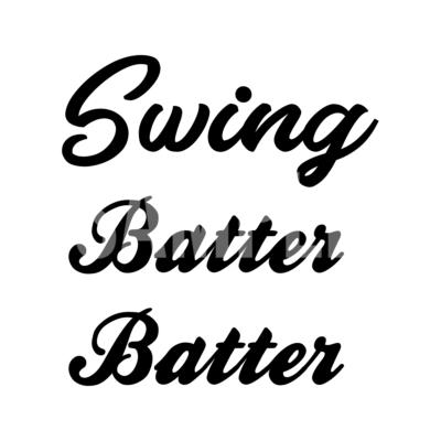 Swing Batter Batter SVG
