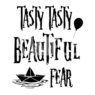 Tasty Tasty Beautiful Fear SVG