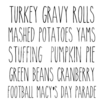 Turkey Gravy Rolls SVG