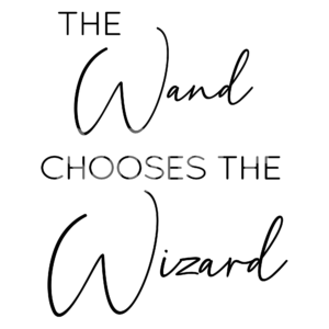 The Wand Chooses The Wizard SVG