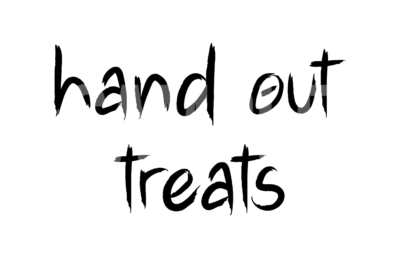 Hand Out Treats SVG