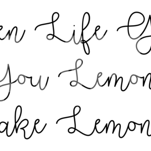 When Life Gives You Lemons Make Lemonade SVG