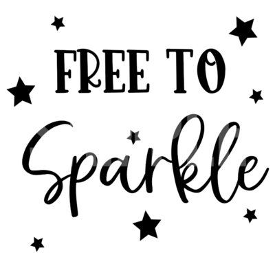 Free To Sparkle PNG and SVG