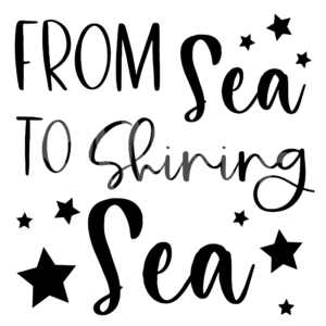 From Sea To Shining Sea PNG and SVG